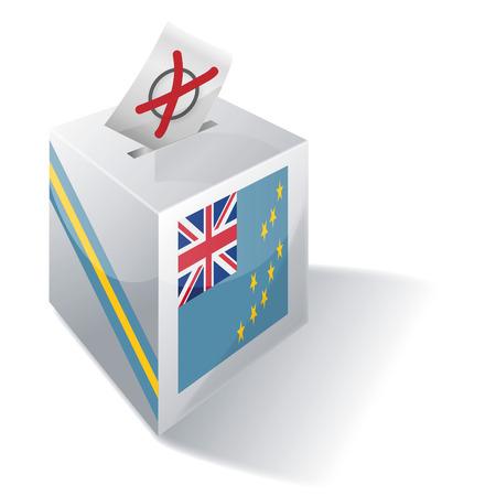 liberal: Ballot box Tuvalu