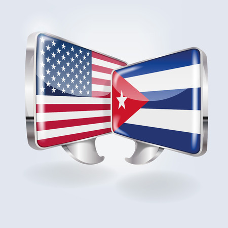 Bubbles and speech in Cuban and American Illustration