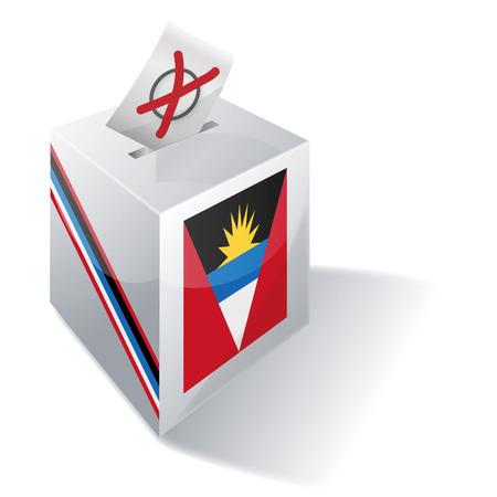 antigua: Ballot box Antigua and Barbuda