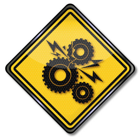 friction: Sign gears and gear damage