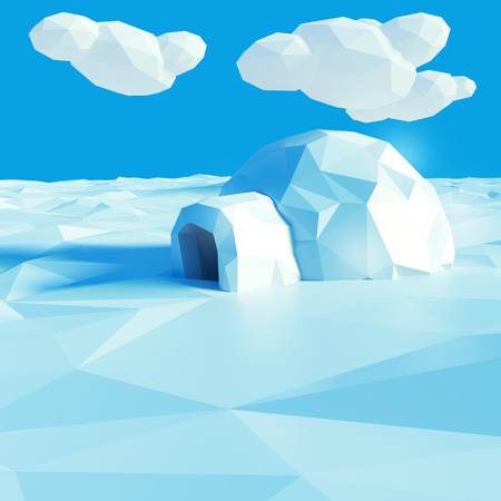 polar climate: Igloo and climate change