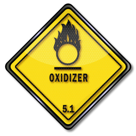 oxidizing: Danger sign inflammatory and oxidative acting substances