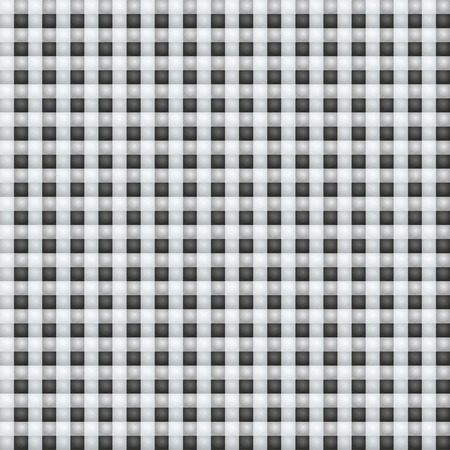 dry cloth: Small black eyed white fabric with checks Illustration