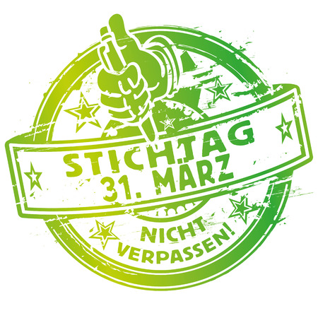31: Rubber stamp March 31