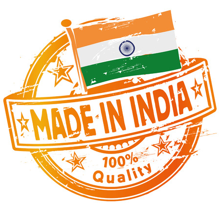 Rubber stamp Made in India