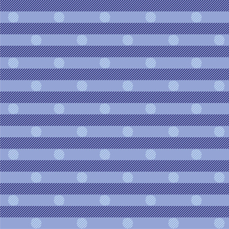 cor: Blue fabric with dots