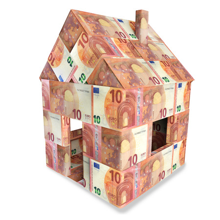 severance: House with 10 euro bills
