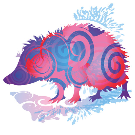 blob: Shadow blob with hedgehog