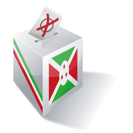 voting rights: Ballot box Burundi