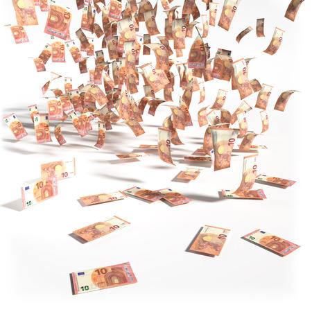 billets euros: Les projets de loi de 10 Euro notes