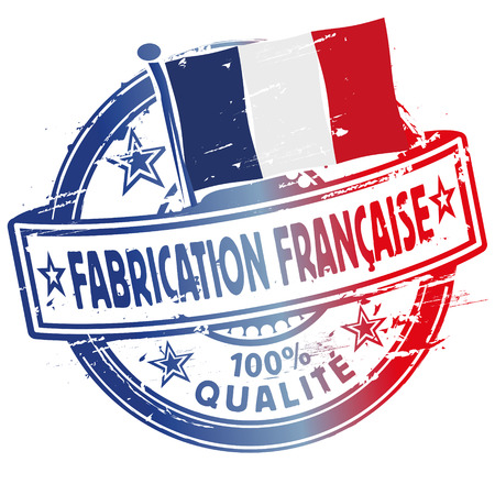 francaise: Rubber stamp fabrication francaise