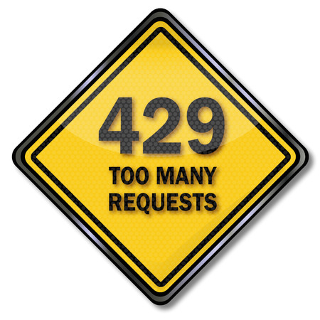 too many: Computer plate 429 too many requests