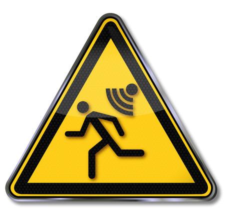 slumped: Burglar alarm alarm and siren