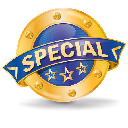specialty store: Special button