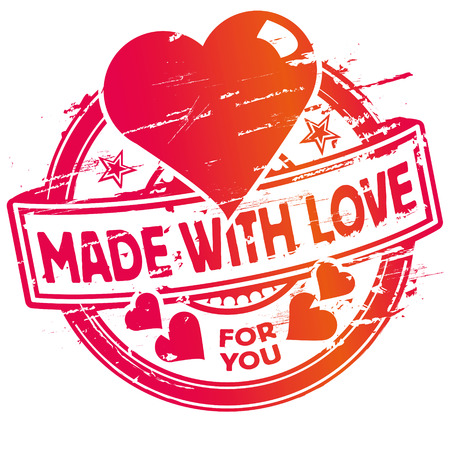 fortunately: Rubber stamp madewithlove