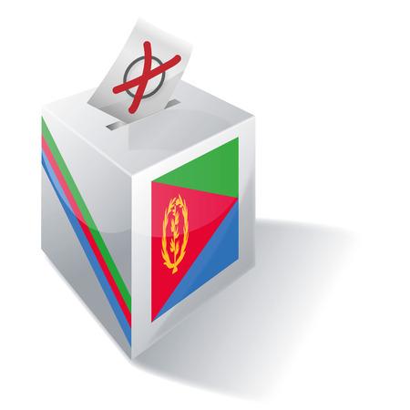 absentee: Ballot box Eritrea