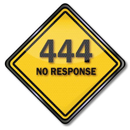 NO: Computer sign 444 No Response