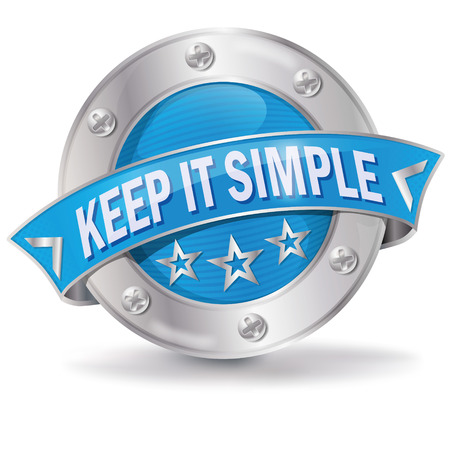 it: Button keep it simple