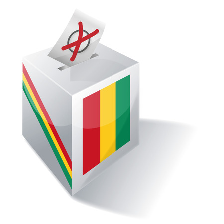 voting rights: Ballot box Guinea