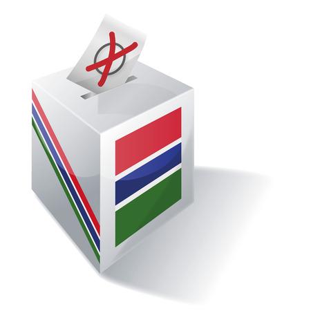Ballot box Gambia