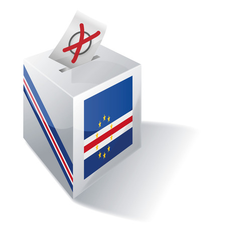 voting rights: Ballot box Cape Verde