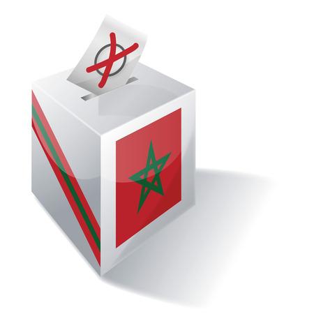 absentee: Ballot box Morocco