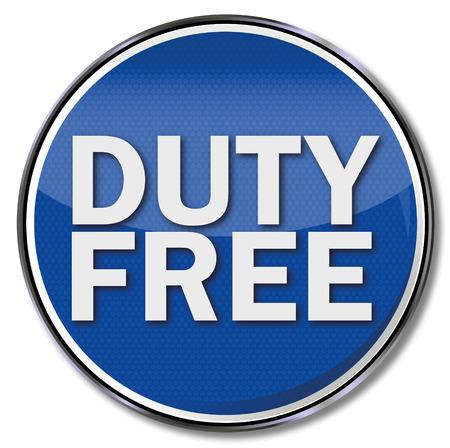devoir: Bouclier Duty free Illustration
