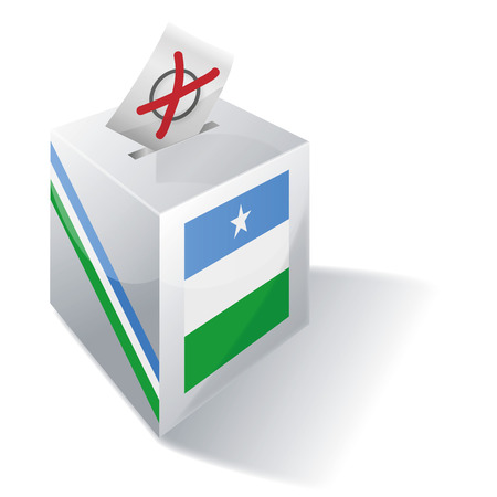 voting rights: Ballot box Puntland