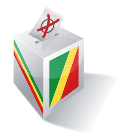 voting rights: Ballot box Republic of Congo