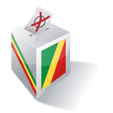 Ballot box Republic of Congo