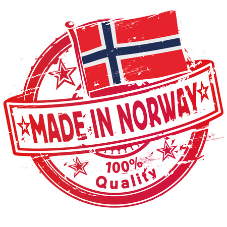 norway: Stamp made in Norway