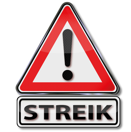 decommissioning: Sign attention strike