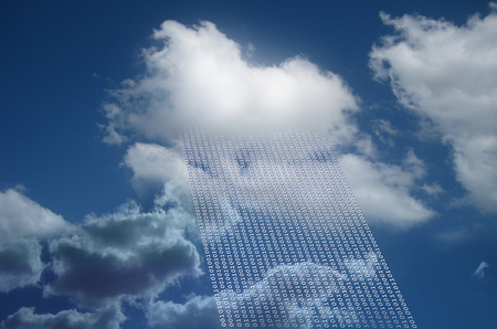 deletion: Cloud as cloud computing and cloud data