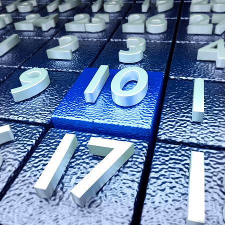 cronologia: décimo día calendario