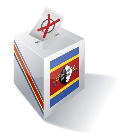 Ballot box Swaziland