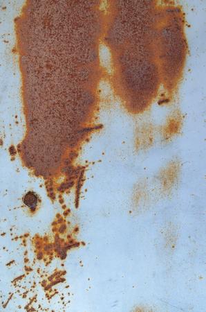 gray matter: Running down rust Stock Photo