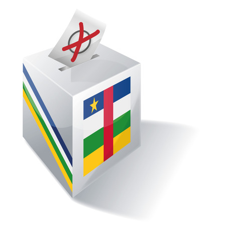 registered mail: Ballot box Central Africa