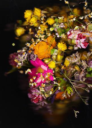 dried flower arrangement: Old baroque floral