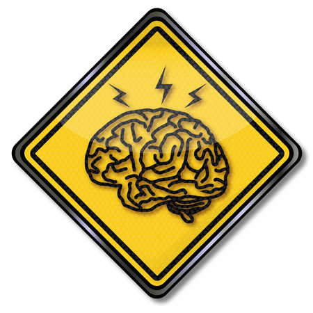 Sign with the brain, headache and research