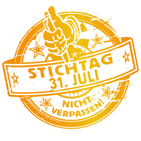 31th: Stamp of july 31th