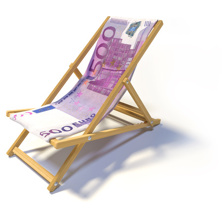 domestic policy: Folding beach chair with 500 euro