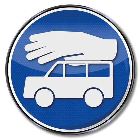 robo de autos: Firmar el robo de vehículos atención y el seguro de coche
