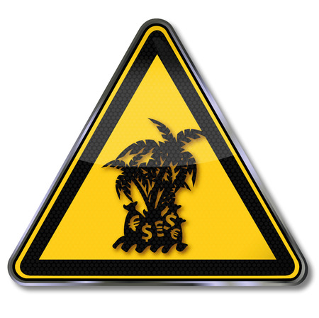 oasis: Sign tax haven on a small island