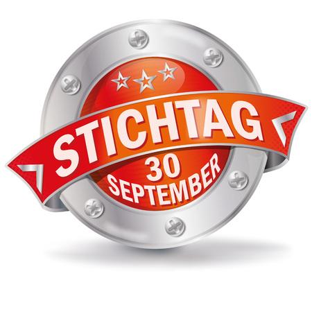 september: Button September 30th
