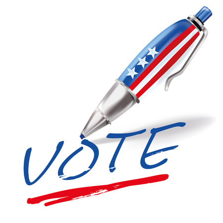 Ballpoint pen and vote