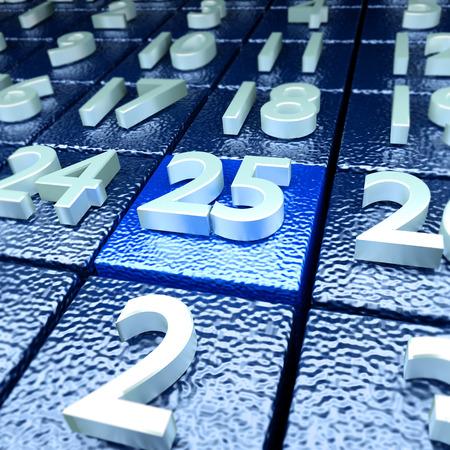 Twenty-fifth calendar day
