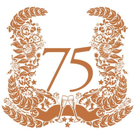 75 주년 기념 비녜 트