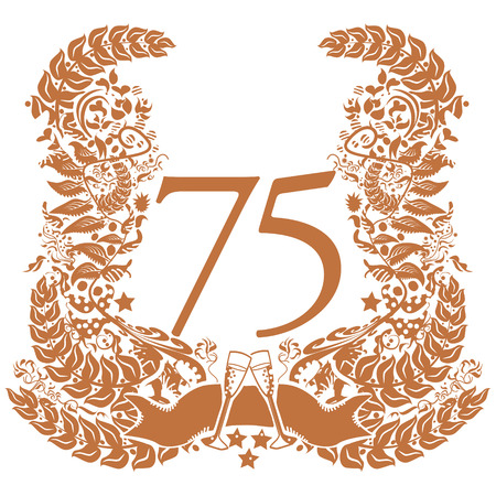 Vignette for the 75th anniversary