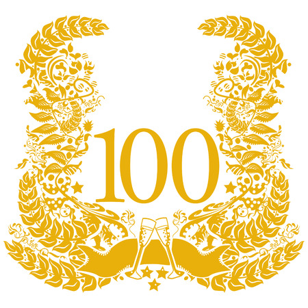 Vignette for the 100th anniversary