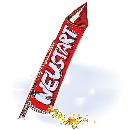 Rocket with restart